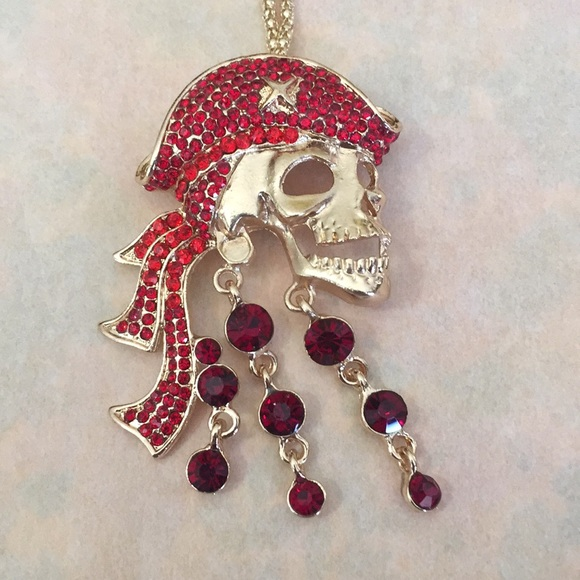 Betsey Johnson Jewelry - Lovely pirate 🏴☠️necklace/broach